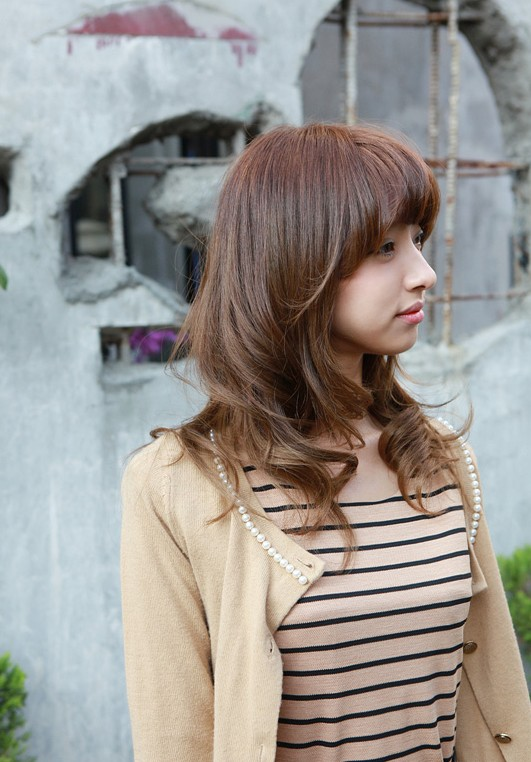 Perfect Hairstyles Long Korean Hairstyle For Asian Girls 2012