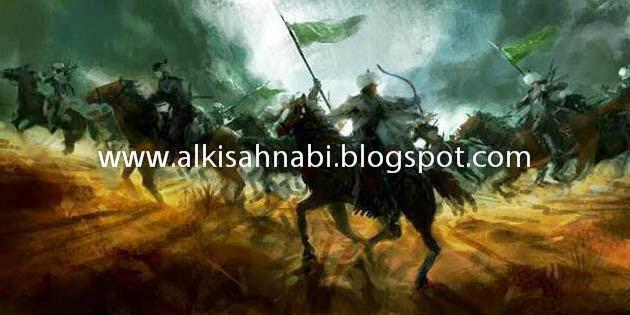 Malaikat Jibrail Dan Kudanya Haizum, Perang Badar