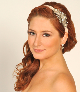 how to wedding hairstyles simple 3 wedding hairstyles with headbands. Black Bedroom Furniture Sets. Home Design Ideas