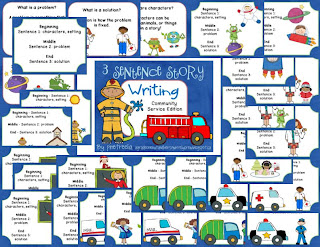 fiction story writing kids fun primary