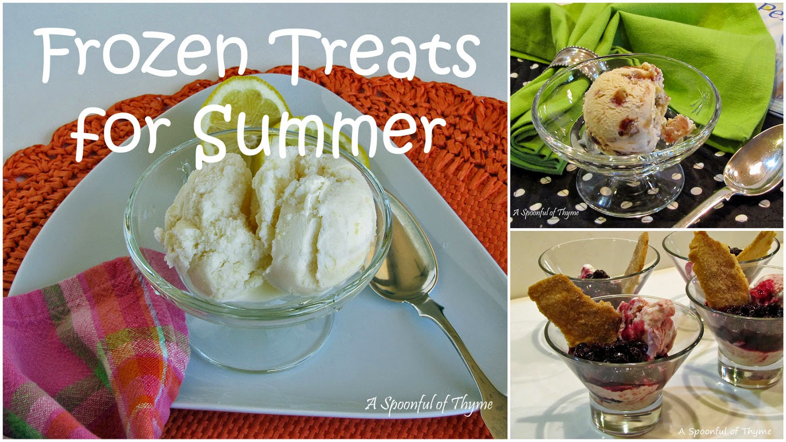 frozen treats for the summer