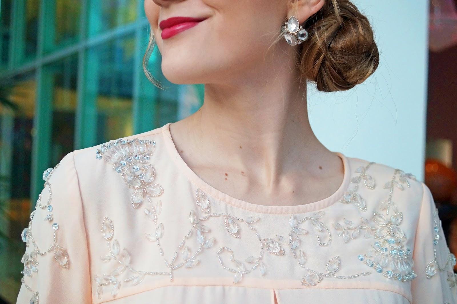 Beaded Vintage Inspired Dress