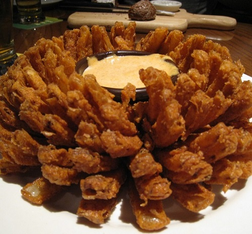 Outback Steakhouse's Bloomin' Onion and Dipping Sauce Restaurant Recipes
