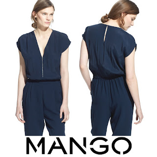 Queen Letizia wore MANGO Zip Jumpsuit - MANGO Zip Jumpsuit