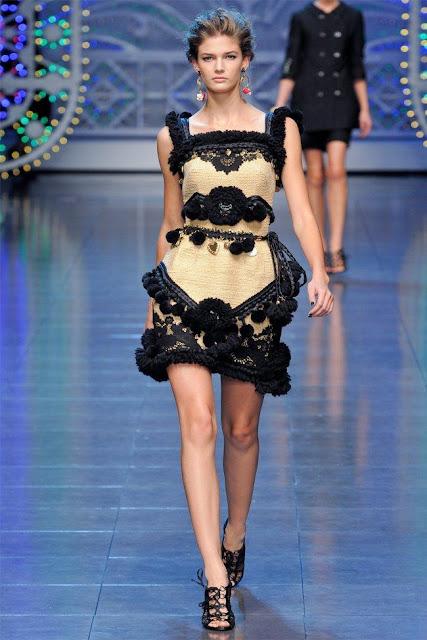 dolce gabbana57 - Dolce&Gabbana Ilkbahar 2012 | Milan Moda Haftas�