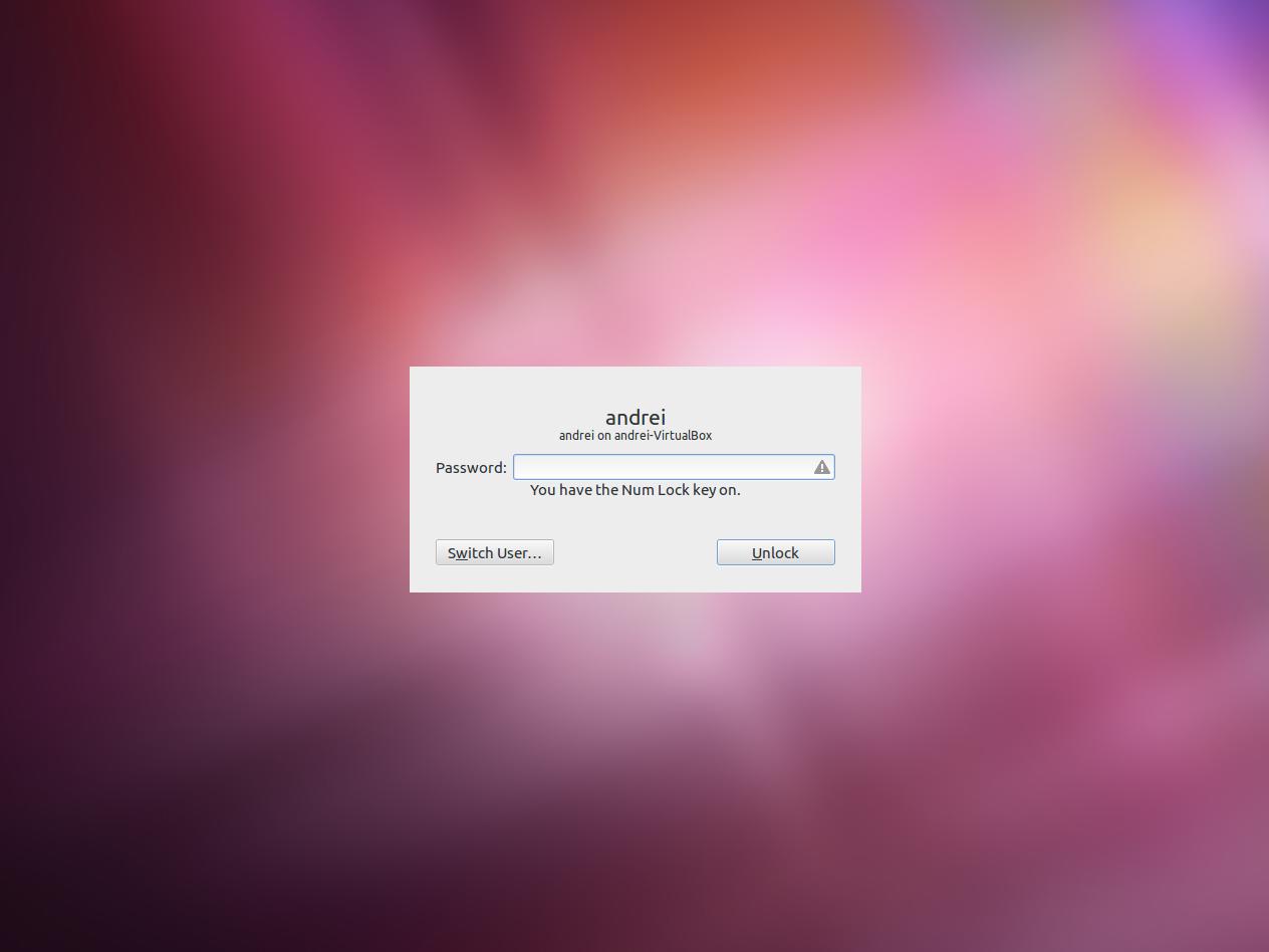 Fedora 17 Screensaver