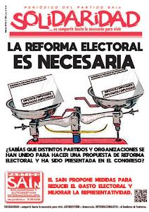 La reforma electoral es necesaria
