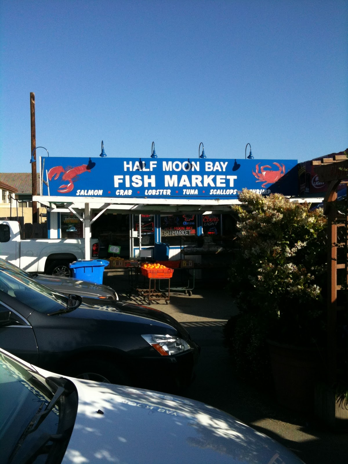 everything coastal half moon bay fish market
