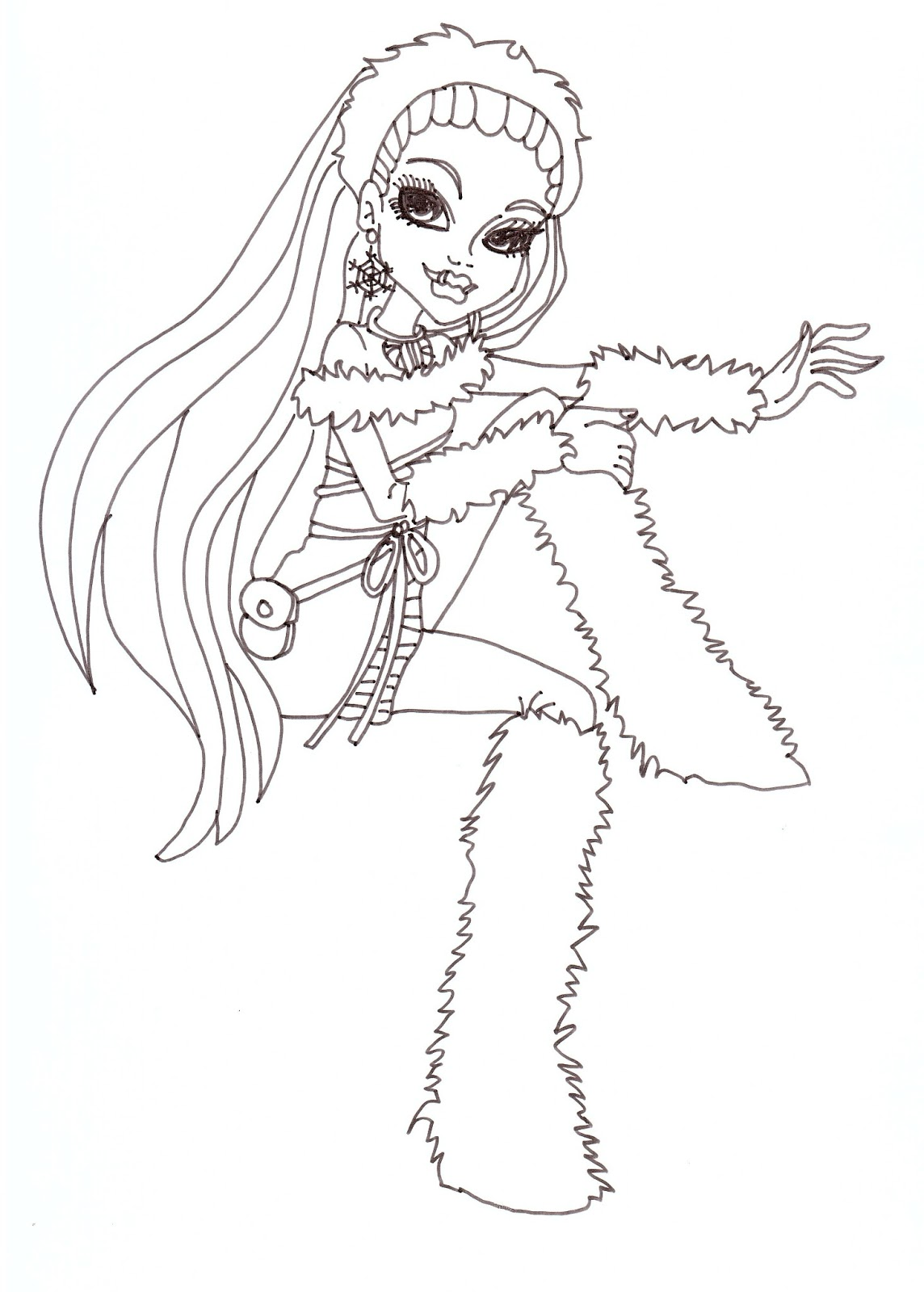 abbey bominable coloring pages - photo#13