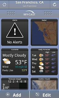 My-Cast Weather ATT App