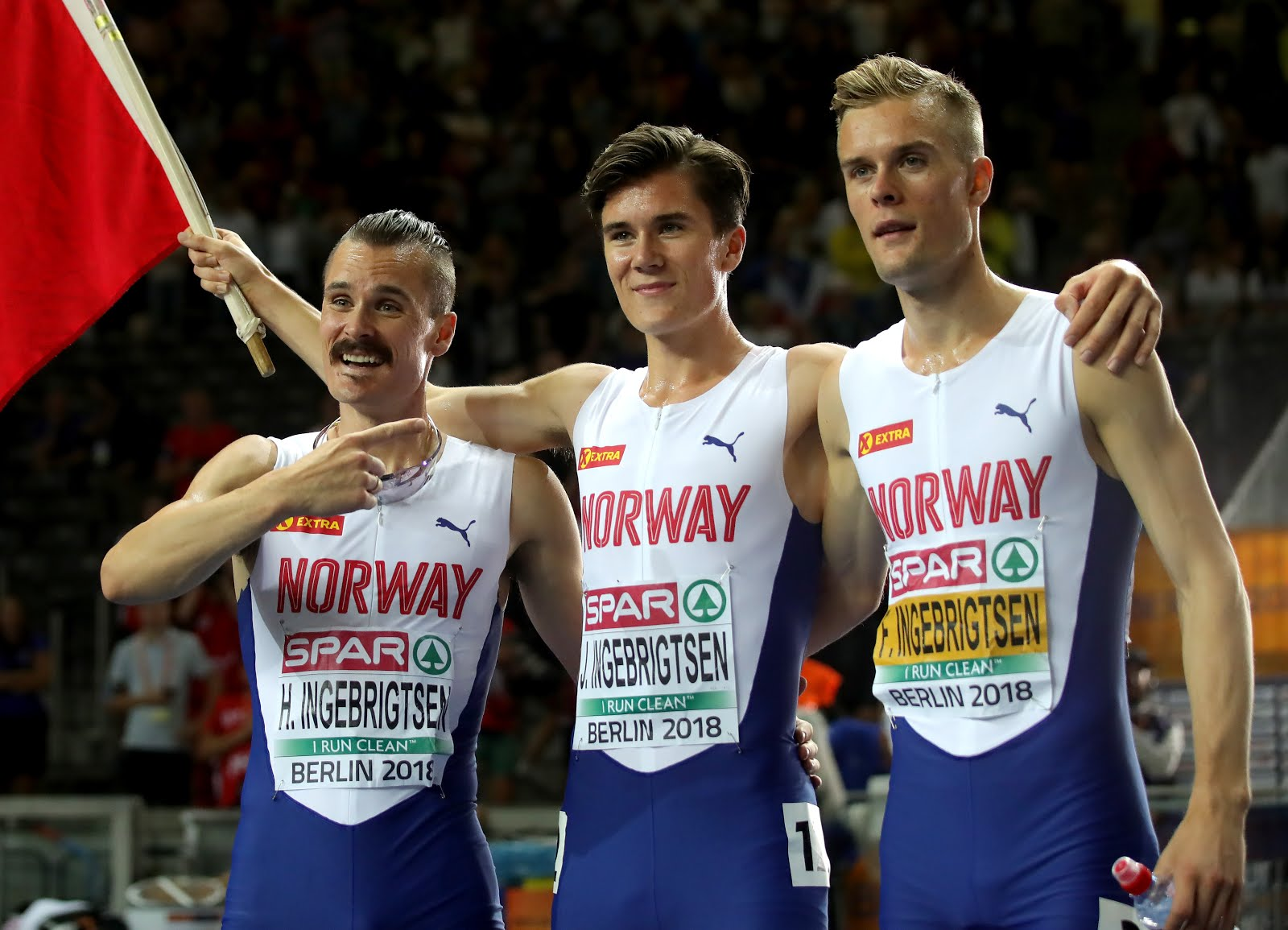 "Norway's Ingebrigtsen Brothers: Click on Photo for ""Crazy Good"""