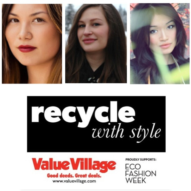Eco Fashion Week, Thrift chic challenge by value village