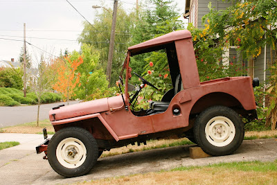 1947 Willys CJ2A Jeep.
