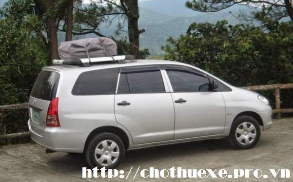 cho thuê xe Toyota Innova G