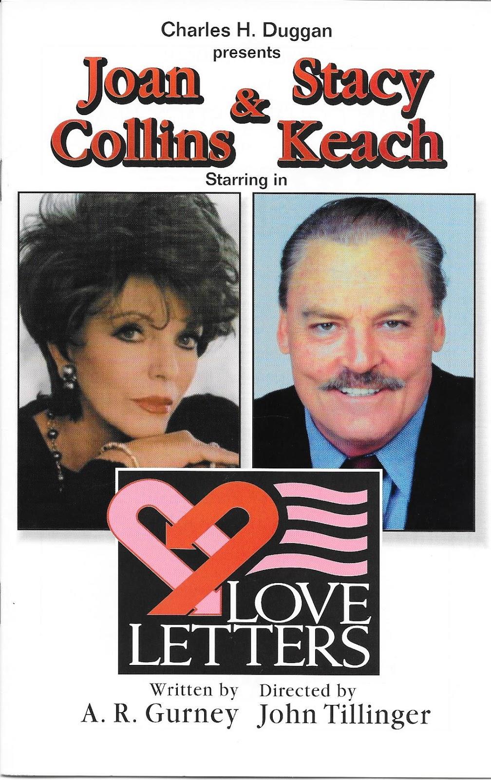 Love Letters Tour Joan Collins Stacy Keach