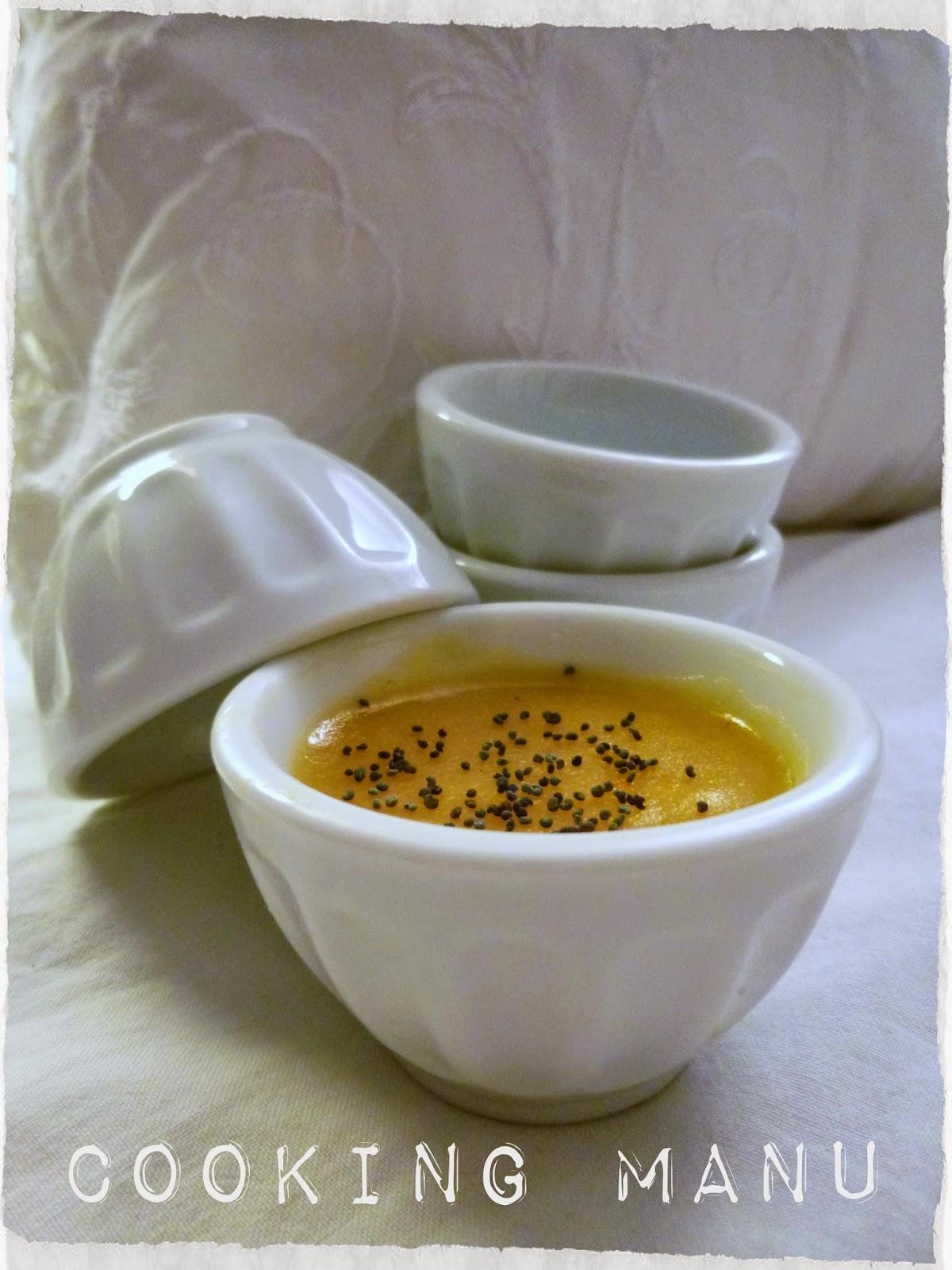 crema di patate con semi di papavero (potato cream with poppy seeds)
