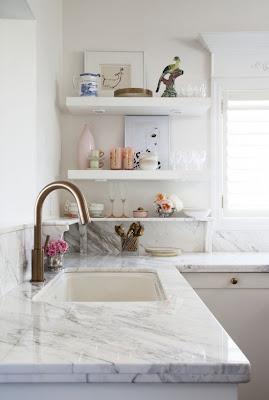 Open shelving kitchen storage inspiration #kitchen #storage