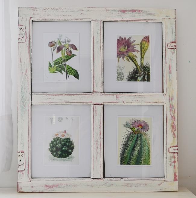 Reciclar: de ventana a marco {DIY} / Vero Palazzo - Home Deco