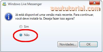 excluir msn 2011-instalar msn 2009
