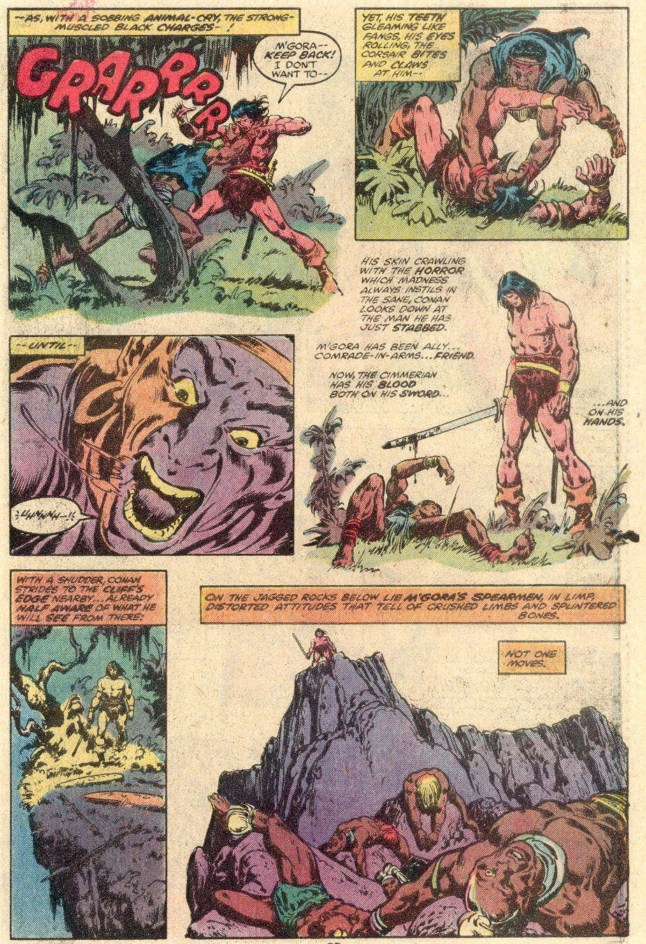 Conan the Barbarian (1970) Issue #100 #112 - English 20