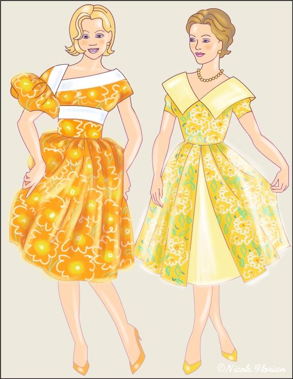 Vintage Fashion * Coloring pages title=