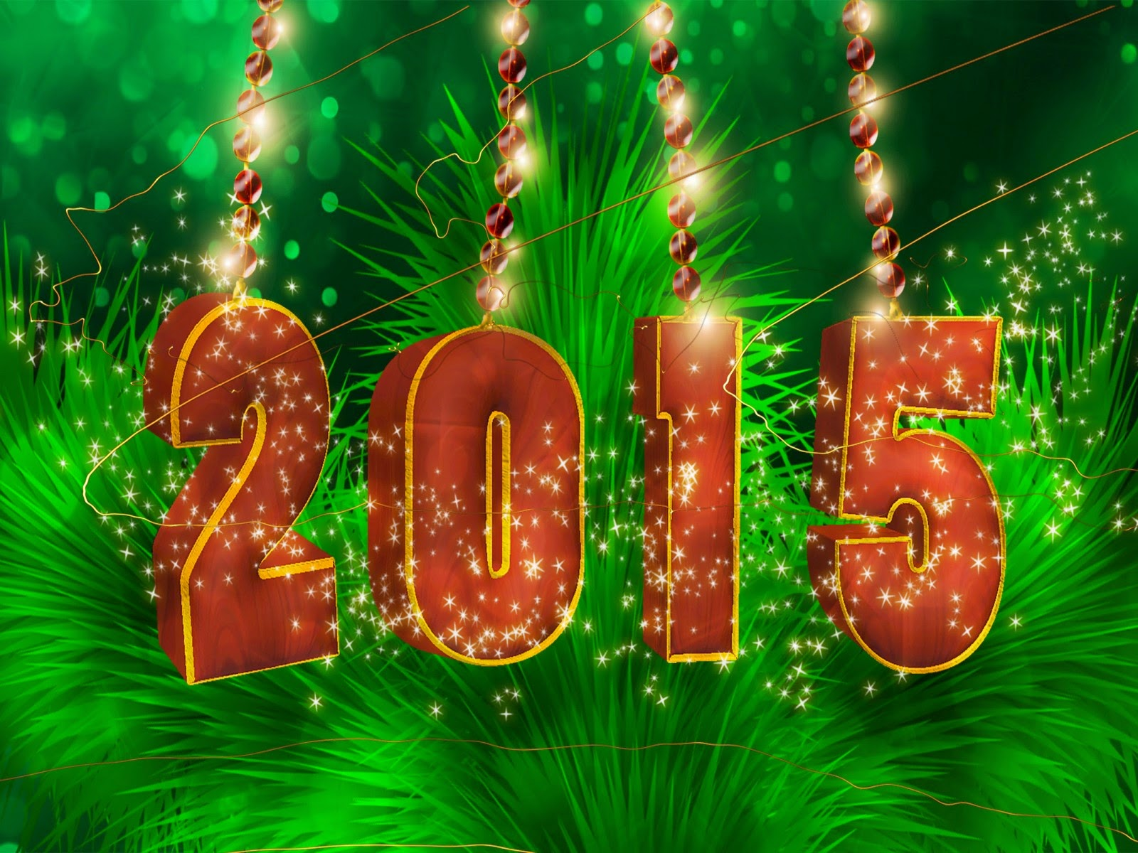 animated new year wallpaper 2015