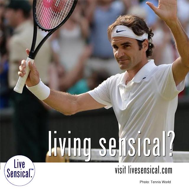 Roger Federer - Living Sensical? http:livesensical.com