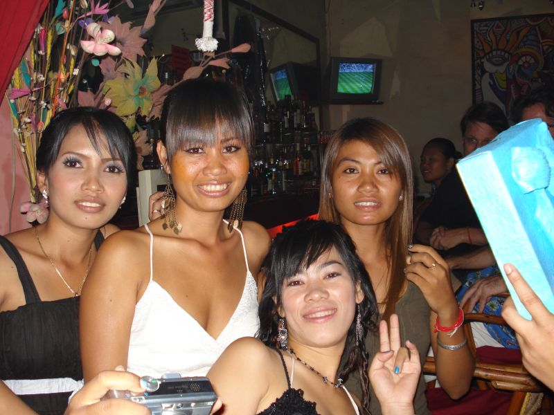 Escort girls in Cambodia