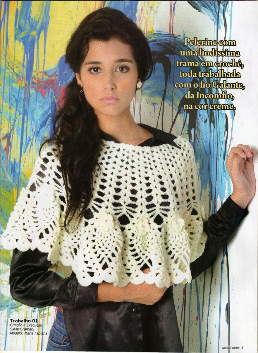 revista moda croche