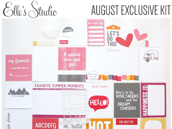 ELLE'S STUDIO DESIGN TEAM : AUGUST KIT