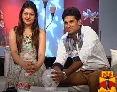 NATPUDAN APSARA – Vijay Yesudas & Dharshana Yesudas EP15, Thanthi TV 19-10-2013