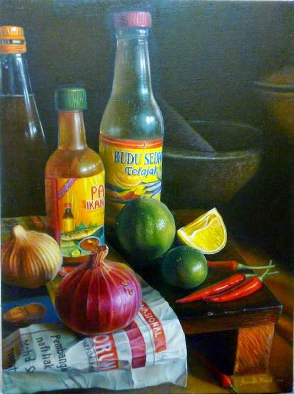 Lukisan Realisme Karya Azimuddin Abd Manaf