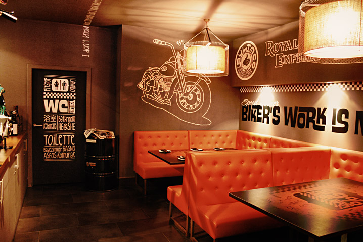 Sideblog 99 moto bar barcelona as if our kiddo party wasnt enough heres another reason to visit barcelona the 99 moto bar this place was decorated by the artist brusco who did our malvernweather Choice Image