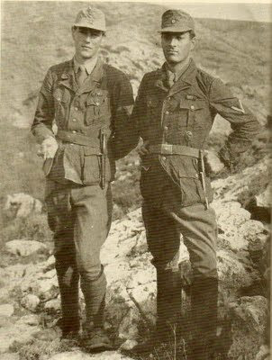 Patrick Leigh Fermor and Billy Moss