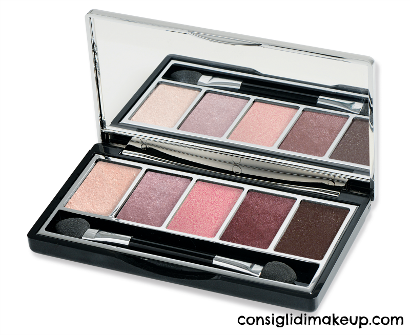 vamp palette pupa milano 002 trendy rose gold edition
