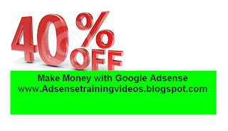 Adsense DVD per 40% Special Discount.Last date of discount 31 January 2016