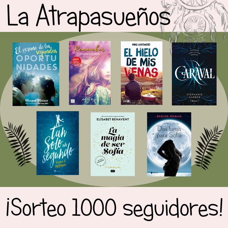 """Sorteo del Blog """"La Atrapasueños"""""""