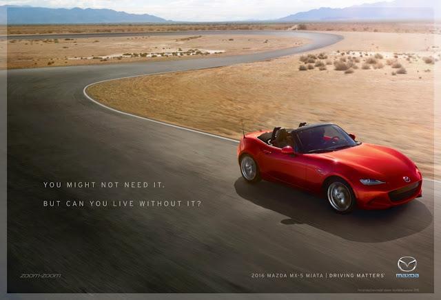 2016 Mazda MX-5 Driving Matters advertisement