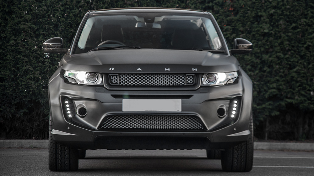 another range rover evoque tune from project kahn carscoops. Black Bedroom Furniture Sets. Home Design Ideas