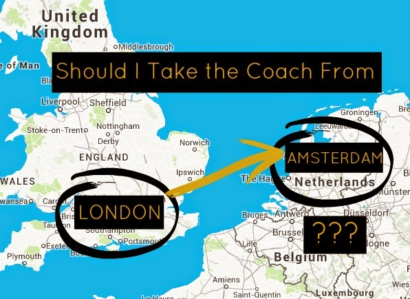 Coach from London to Amsterdam