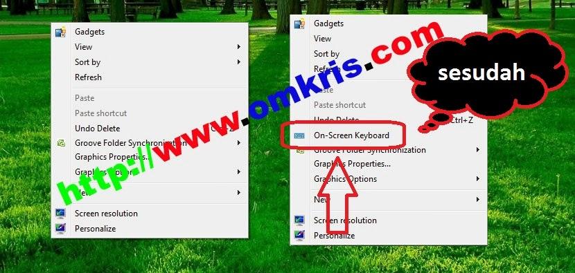 Tambahkan Aplikasi di Context Menu Klik Kanan Lebih Mudah