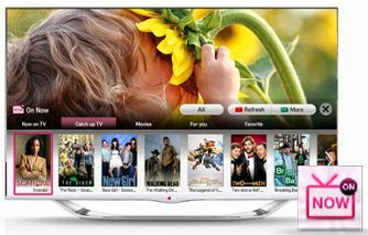 LG smart tv with webos