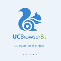 UC Browser V8.7  Handler Apk for Java Support Phone