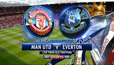 مشاهدة مباراة إيفرتون ومانشستر يونايتد 20-4-2014 بث مباشر علي بي أن سبورت مجانا Everton vs Manchester United