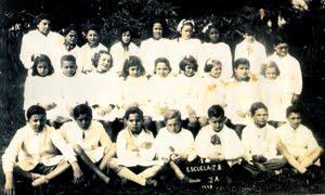 ESCUELA 78 (La Escuela del Águila) 2º grado - año 1946 (actual Escuela 143) L. del Mirador