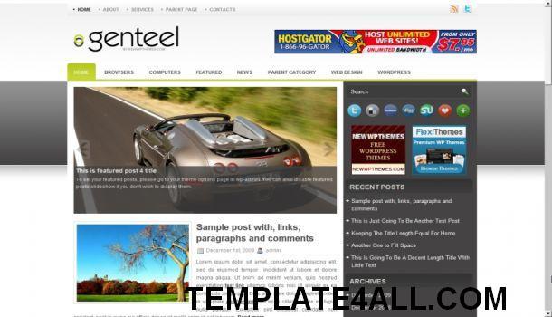 Jeux En Ligne WordPress Thème Magazine