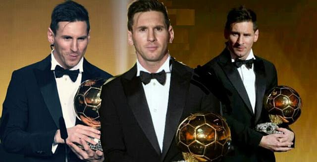 A emocionante mensagem de Messi no Facebook, após receber a Bola de Ouro.