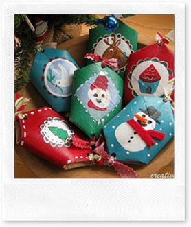 Un pa s llamado pequelandia manualidades con cart n del - Manualidades con rollos de papel higienico navidenos ...