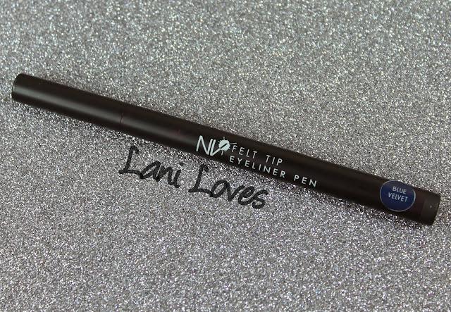 NV Colour Felt Tip Eyeliner Pen - Blue Velvet Swatches & Review