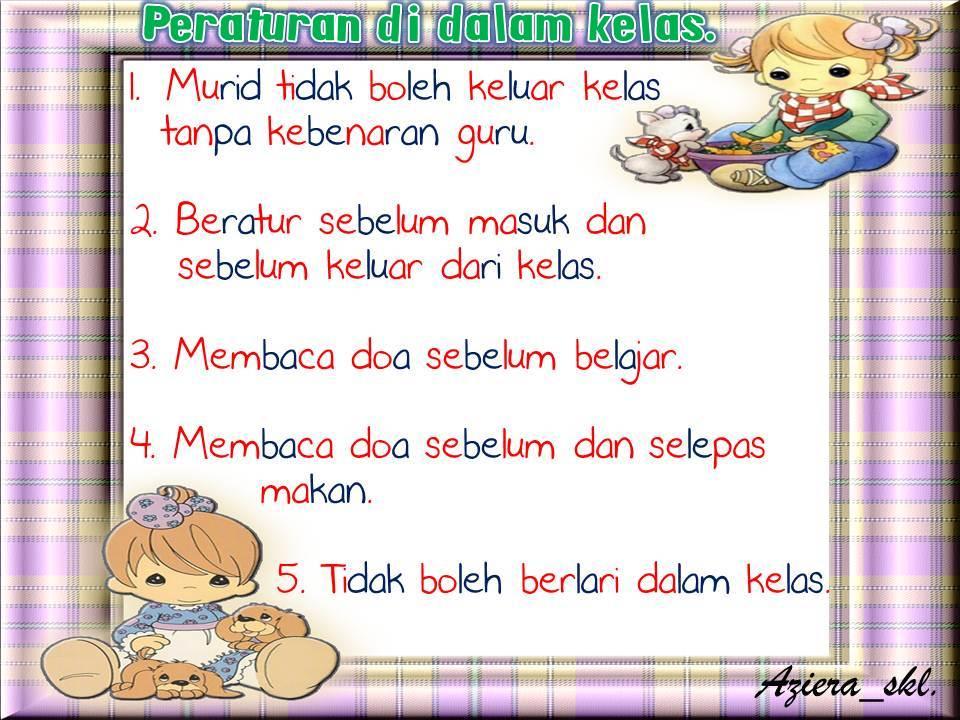 Permata Jiwaku Pra Sekolah SK Lepar: peraturan-peraturan ...